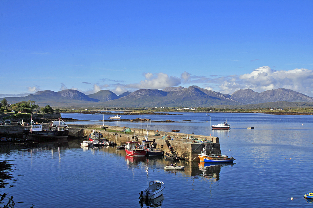 Connemara, near maam Cross